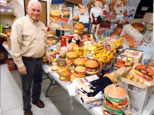 HAMBURGER ITEMS FIND PERMANENT HOME IN SEYMOUR