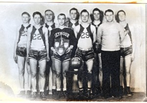 SEYMOUR WINS BASKETBALL TOURNAMENT (1935)