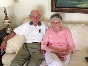 CLAYTON AND AUDREY EBERT:  RECALLING THE EARLY YEARS