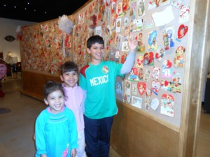 VALENTINE FUN AT THE MUSEUM