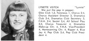 LYNETTE LOUISE VEITCH PATCHEN REMEMBERS By Gail Veitch Dean