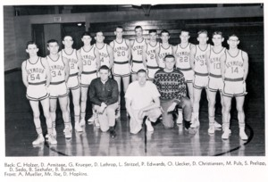 SEYMOUR BASKETBALL MUCH DIFFERENT FIFTY YEARS AGO