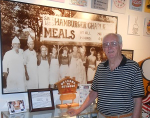 TOM DUFFEY AND HOW SEYMOUR BECAME 'THE HOME OF THE HAMBURGER'