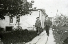 A couple Walking Home - 1920s